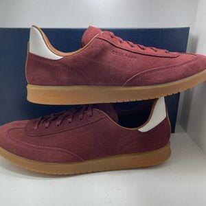 BNIB Cole Haan Grand pro Turf Sneaker Maroon sz 9